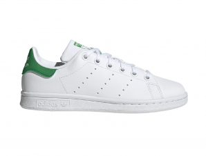 adidas Originals – STAN SMITH J – FTWWHT/FTWWHT/GREEN
