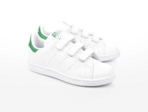 adidas Originals – STAN SMITH CF C – FTWWHT/FTWWHT/GREEN