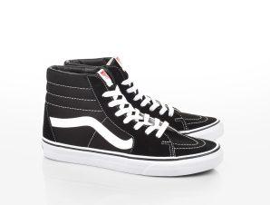 Vans – SK8-HI – BLACK/BLACK/WHITE