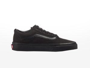 Vans – UA OLD SKOOL BLACK/BLACK – BLACK/BLACK (CANVAS)