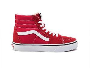 Vans – UA SK8-HI – RACING RED/TRUE
