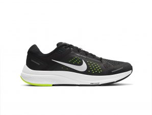 Nike – NIKE AIR ZOOM STRUCTURE 23 – BLACK/METALLIC SILVER-VOLT-ANTHRACITE