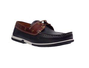 Riverland 1212 Boat Shoe Απο Γνήσιο Δέρμα Μπλέ