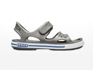 Crocs – CROCBANDIISANDALPS – SLATE GREY/BLUE JEAN