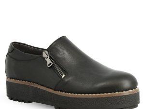 Γυναικεία Δερμάτινα Loafer Parex 12322003 – Μαύρο