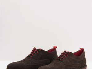 Kricket Καφέ Suede Brogues Tommy 1