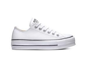 Converse – CHUCK TAYLOR ALL STAR LIFT CLEAN – 102-WHITE/BLACK/WHITE