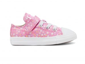 Converse – CHUCK TAYLOR ALL STAR 1V FLORAL – 640-PEONY PINK/TOPAZ GOLD/WHITE
