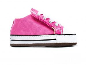 Converse – CHUCK TAYLOR ALL STAR CRIBSTER CANVAS COLOR – 650-PINK/NATURAL IVORY/WHITE