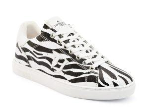 Trussardi Jeans γυναικεία sneakers με animal print – 79A00453-9Y099998 – Λευκό