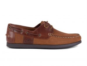 """Barbour ανδρικά boat shoes """"Capstan"""" – MFO0304 – Κεραμιδί"""