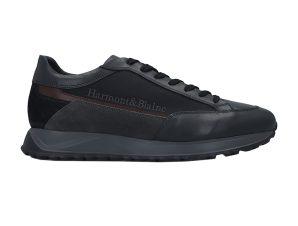 Harmont & Blaine ανδρικά sneakers με κεντημένο logo – EFM202091-6130 – Μπλε Σκούρο