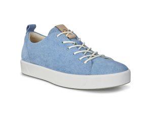 ECCO ανδρικά sneakers με κορδόνια Soft 8 – 440504 – Γαλάζιο