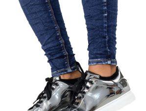 Μετταλικά sneakers