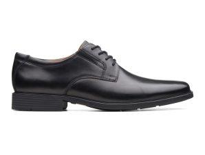 "Clarks ανδρικά δερμάτινα παπούτσια oxford ""Tilden Plain"" – 26110350 – Μαύρο"