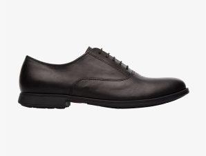 "Camper γυναικεία δερμάτινα oxford παπούτσια ""Mil"" – K200918-001 – Μαύρο"