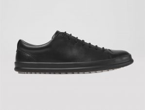 "Camper ανδρικά sneakers με κορδόνια ""Chasis"" – K100373-008 – Μαύρο"