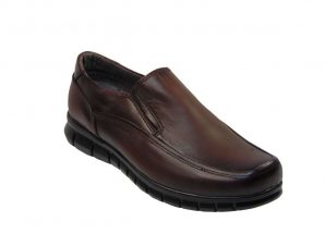 Tsimpolis Shoes 385 Casual Slip On Ανδρικό Δερμάτινο Καφέ