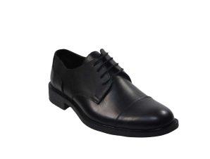 Tsimpolis Shoes 261 Ανδρικό Δετό Δερμάτινο Μαύρο