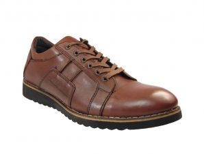 Tsimpolis Shoes 907 Ανδρικό Δετό Δερμάτινο Ταμπά