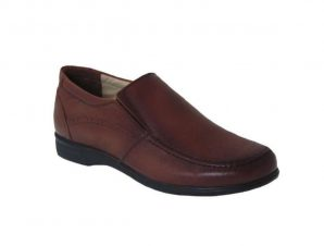 Tsimpolis Shoes 103 Ανδρικό Slip On Δερμάτινο Ταμπά