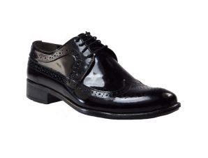 Tsimpolis Shoes 8782 Ανδρικό Oxford Δερμάτινο Μαύρο