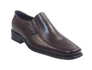 Tsimpolis Shoes 818 Slip On Δερμάτινο Καφέ