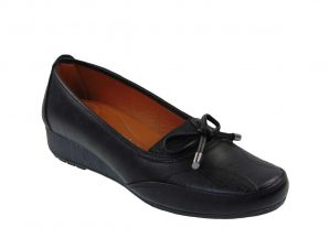 Tsimpolis Shoes 701 Γυναικείο Casual Από Τεχνόδερμα Μαύρο