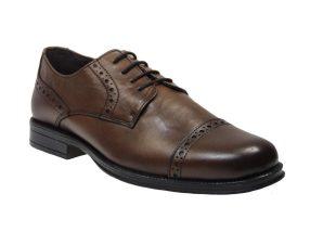 Kimme Shoes 47704 Oxford Δερμάτινο Καφέ