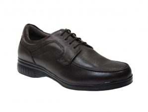 Kimme Shoes 49986 Casual Ανδρικό Δερμάτινο Καφέ Σκούρο