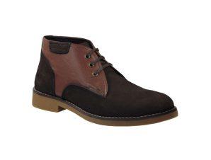 Tsimpolis Shoes 460 Ανδρικό Μποτάκι Δερμάτινο Καφέ