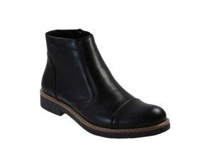 Tsimpolis Shoes R18 Ανδρικό Μποτάκι Δερμάτινο Μαύρο