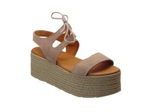 Tsimpolis Shoes T160 Πέδιλο Απο Γνήσιο Δέρμα Ροζ