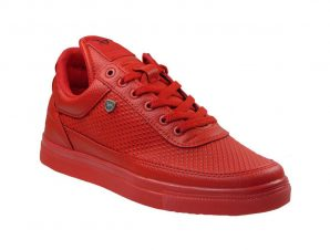 Tsimpolis Shoes T95 Sneaker Απο Τεχνοδέρμα Κόκκινο