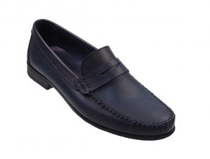 Tsimpolis Shoes 261 Ανδρικό Μοκασίνι Απο Γνήσιο Δέρμα Μπλε Σκούρο