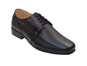 Tsimpolis Shoes 617 Ανδρικό Δετό Δερμάτινο Μαύρο