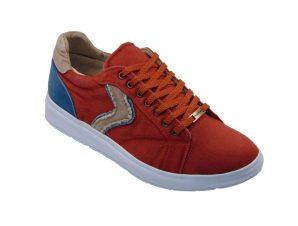 Coton 0707-05 Ανδρικό Sneaker Υφασμάτινο Κόκκινο