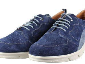 BOXER Shoes 21160 Μπλέ