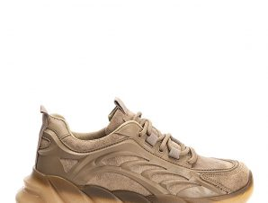 Rubber sole αθλητικά, taupe