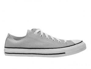 ALL STAR CONVERSE Sneaker Chuck Taylor Low Top Ox – Γκρι (166710C)