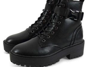 Biker Boots Onlbold 15212289 της εταιρίας Only Μαύρο