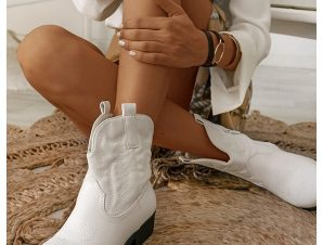 CARNABY WHITE BOOTIES
