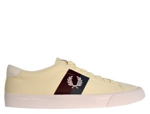 FRED PERRY SNEAKER UNDERSPIN TWILL – ΑΠΑΛΟ ΜΠΕΖ (Β4142-254)