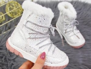 Insulated boots Jr EVE325C white