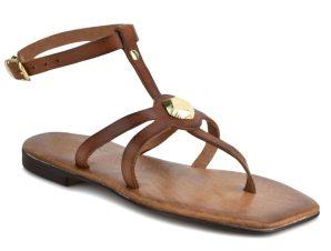 Δερμάτινo καφέ σανδάλι Iris Sandals IR20/7PR