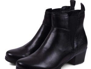 Jana Leather 8-25312-29 Μαύρο