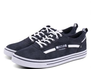Mustang Men Lace up Shoes 4147305 Grey