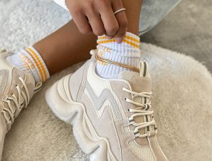 PASCAL TOTAL BEIGE SNEAKERS