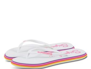 Superdry Neon Rainbow Sleek WF310010Α Μωβ